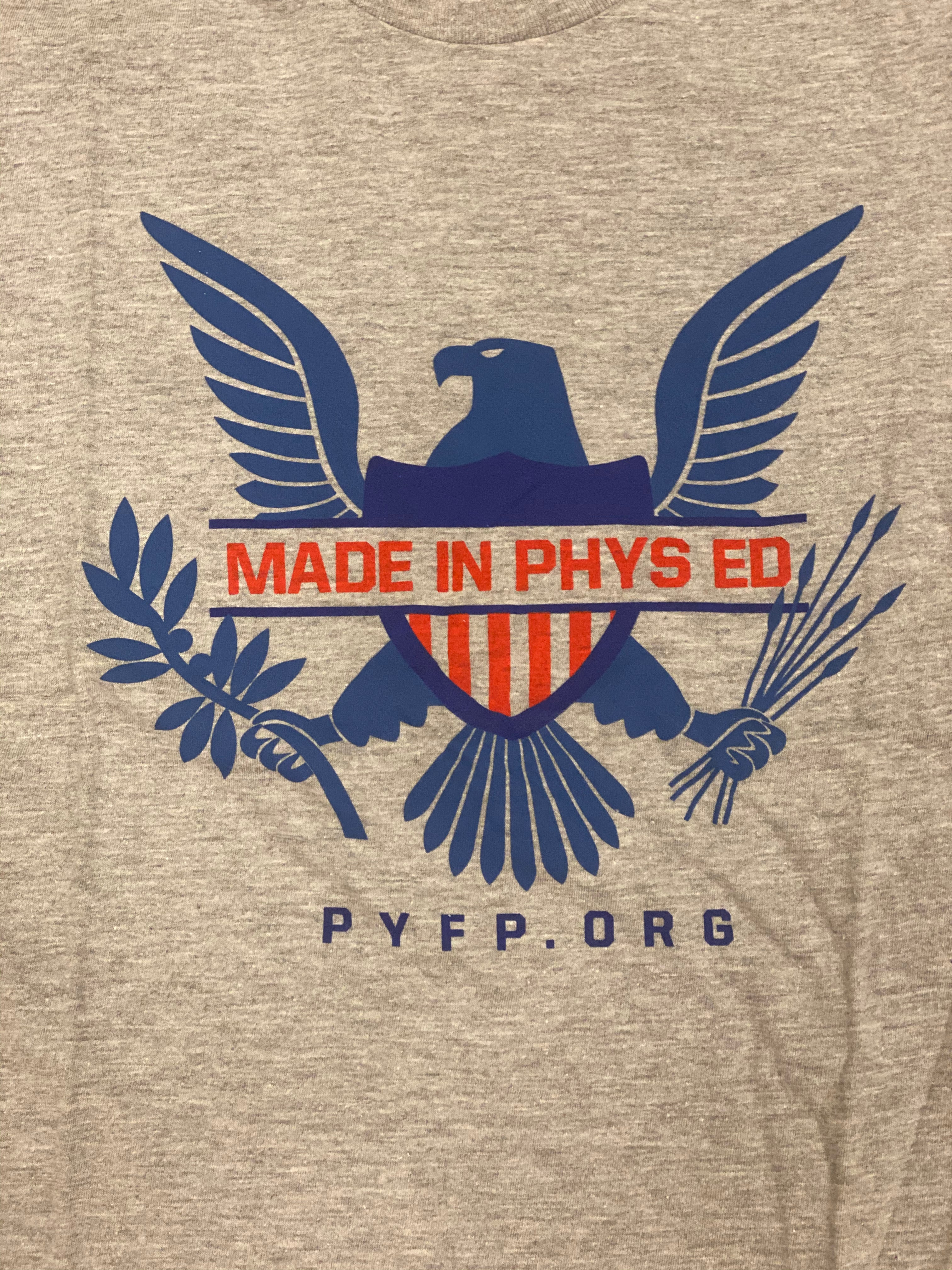 Ladies Made in Phys Ed Tee