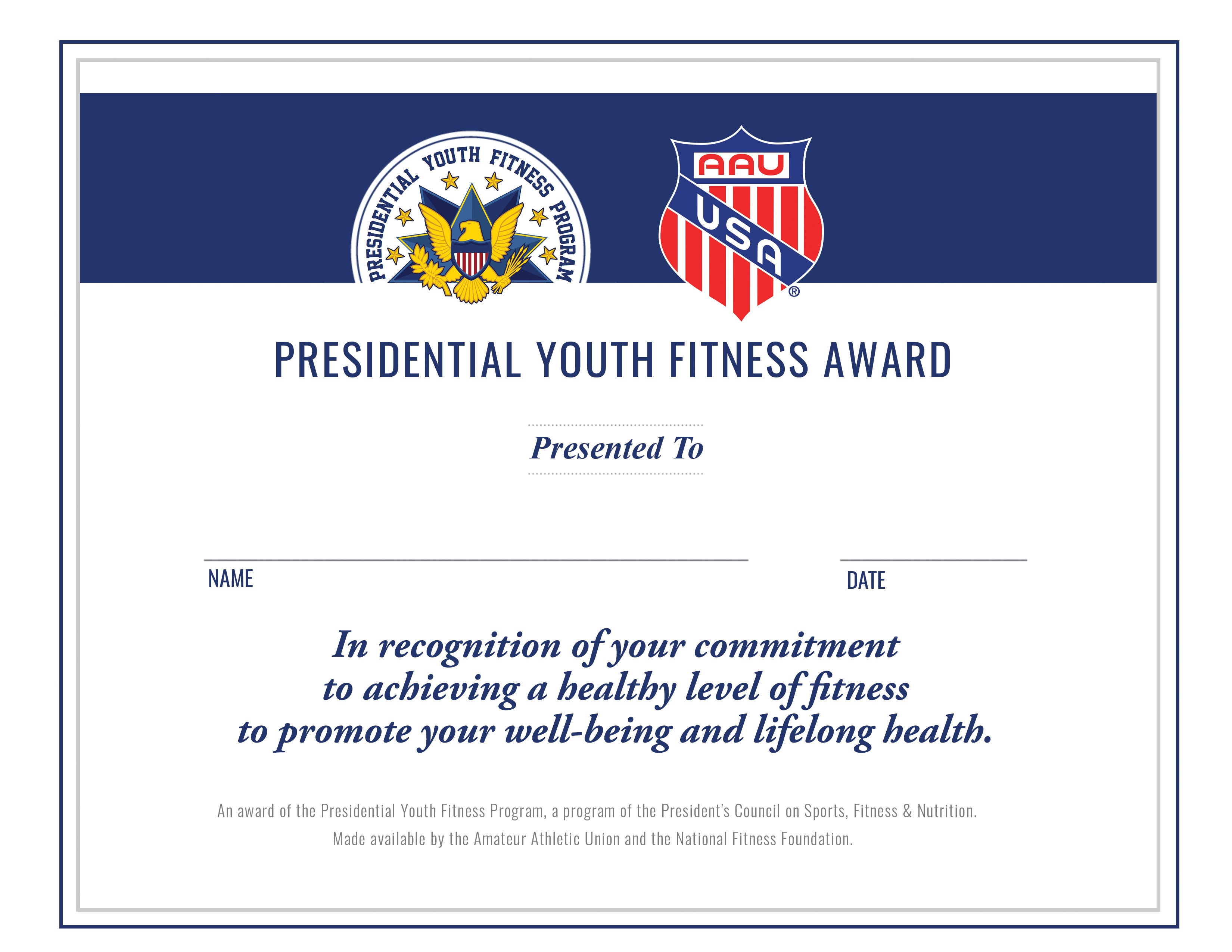 PYFP Certificate (Packs of 10)