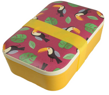 Load image into Gallery viewer, Bamboo lunch box, different designs