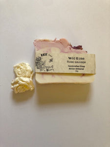 Natural Soap Bar For Hands And Body - Wild Rose Body
