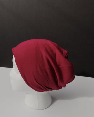 Red Hijab Underscarf Bonnet