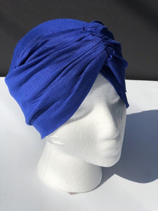 Royal Blue Chemo Cap