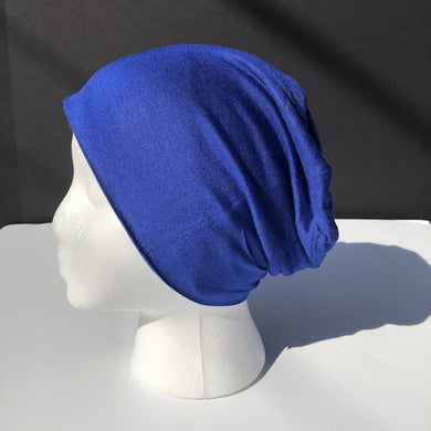 Royal Blue Hijab Underscarf Bonnet
