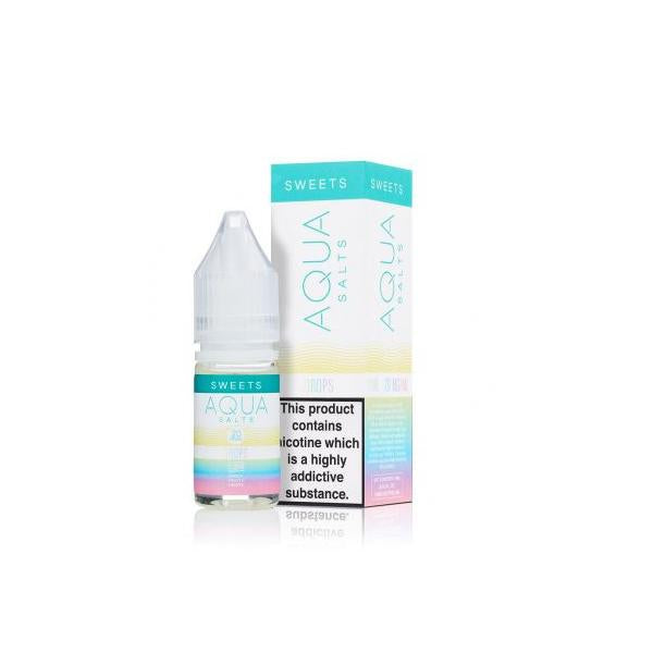 20mg Aqua Sweets by Marina Vape 10ml Flavoured Nic Salts - YUVAPE ONLINE STORE
