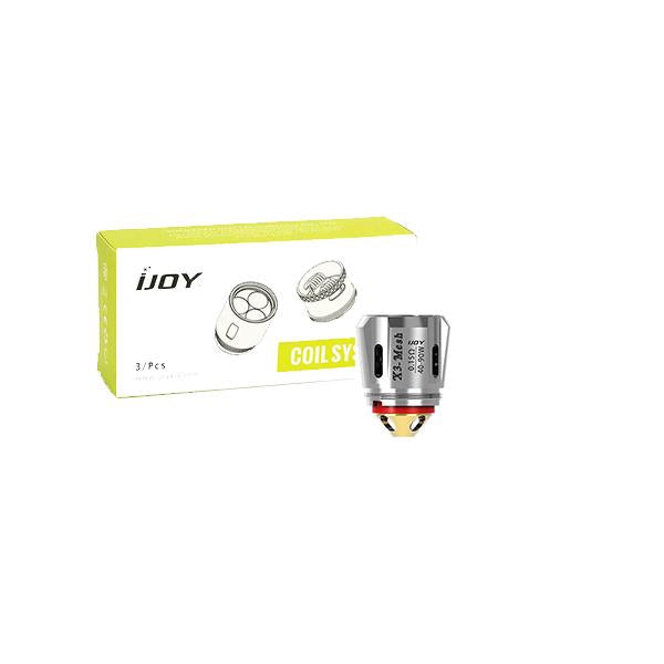 IJOY CAPTAIN X3-Mesh Coils – 0.15 Ohm 40-90W - YUVAPE ONLINE STORE