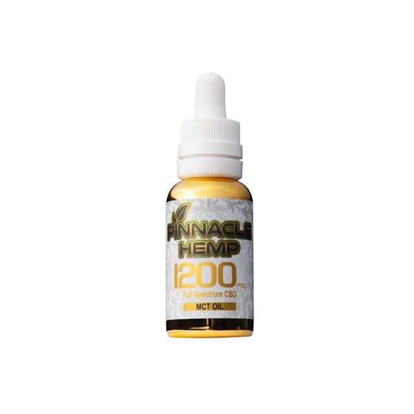 Pinnacle Hemp Full Spectrum MCT Oil 1200mg CBD - YUVAPE ONLINE STORE