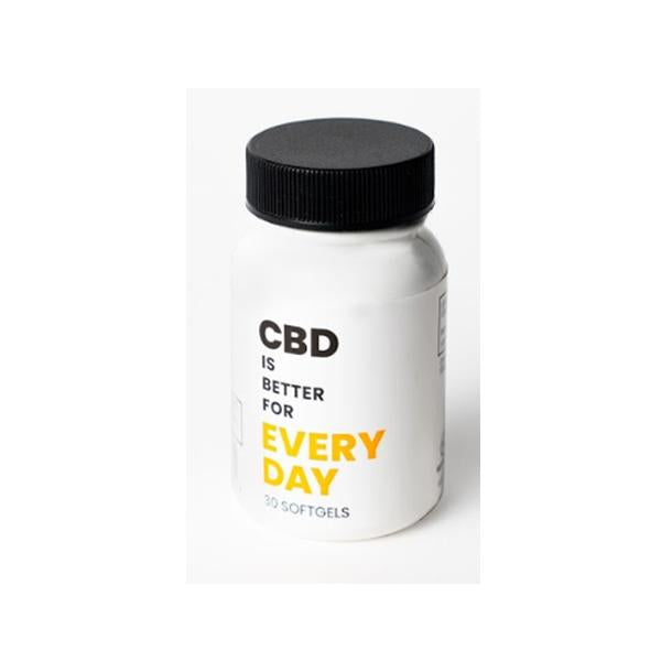 CBD Is Better 750mg CBD Softgels 30 CT Bottle - Every Day