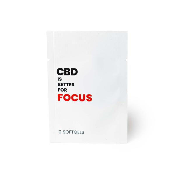 CBD Is Better 25mg CBD Per Softgel - Focus