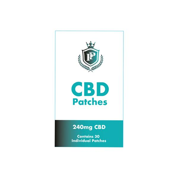 Perfect Patches 240mg CBD Patches - YUVAPE ONLINE STORE