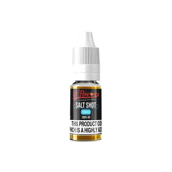 UK Flavour Nic Salt Shot 18mg 10ml (100VG) - YUVAPE ONLINE STORE