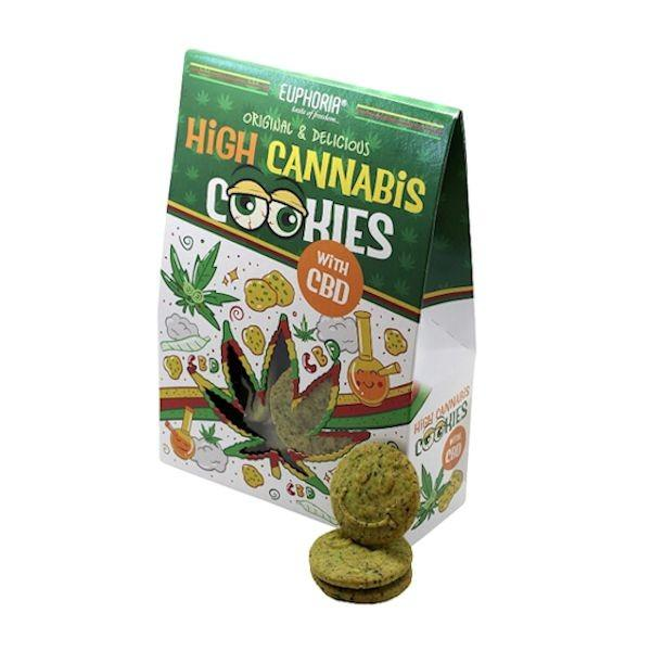 Euphoria High Cannabis  Cookies with CBD - YUVAPE ONLINE STORE