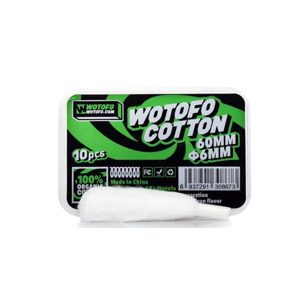 Wotofo Agleted Organic Cotton - YUVAPE ONLINE STORE