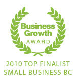 Successful You Business Growth Award 2010 Top Finalist