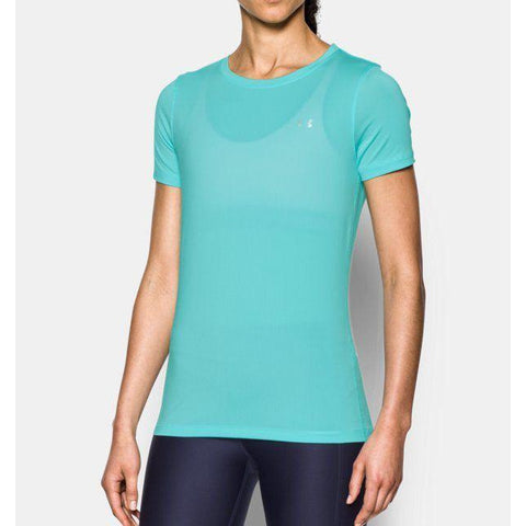 Under Armour - Shirt Turquoise - Maat L