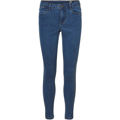 Vero Moda - Teresa MR Skinny Jeans VI307 - Medium Blue Denim