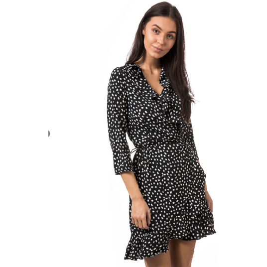 Vero Moda - Vmhenna 3/4 Wrap Dress Noos - Maat S