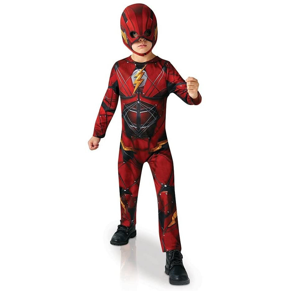 Rubies - DC Justice League The Flash Kostuum - Maat 128 (7-8 jaar)