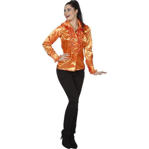 Fashion For Fun - Holland Ruches Blouse - Maat M
