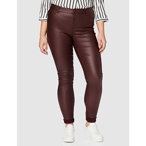 Vero Moda - Skinny Fit broek - Decadent Chocolate