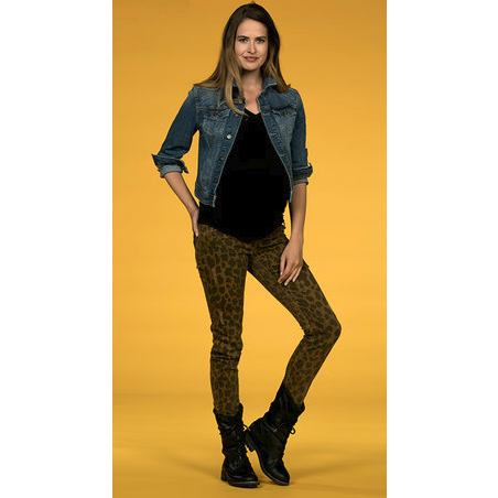 Love2wait - Pants Sophia Leopard - Maat 26