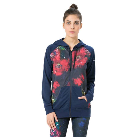 Desigual -  Sweat Hoddie Training Ngarden - Vest