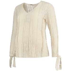 Love2wait - Blouse Crochet Offwhite Lace