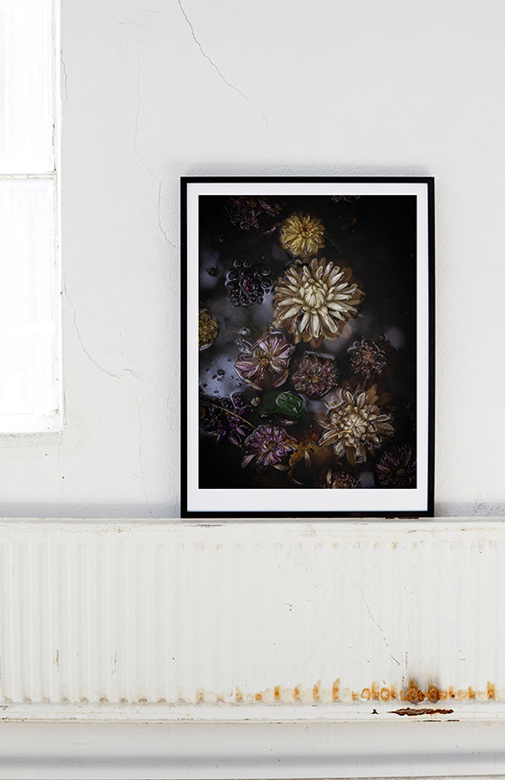 "Fine Art – ""Drowning Dahlias"""