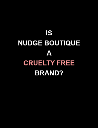CRUELTY FREE BEAUTY BY NUDGE