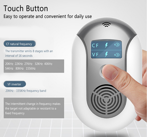 Electronic Pest Repeller Reject Touch button