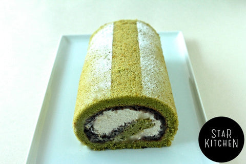 Star Roll Cake (20cm, 8-10 people)