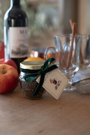 Mulling Spices Gift Packaging Set with Recipes