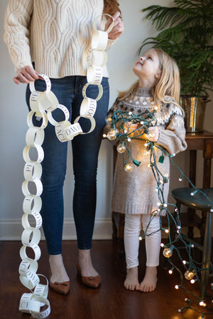 Christmas Paper Chain Kit - Peace & Goodwill