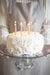 "Beeswax Birthday Candles - Natural - 3"" or 6"""