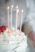 "Beeswax Birthday Candles - Ombré Pastels - 3"" or 6"""