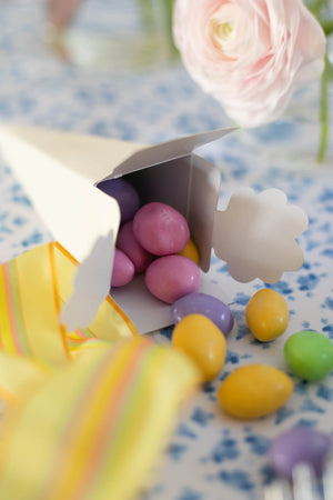 Cone-Shaped Candy Favor Box - Set of 6