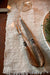 Vintage Antler Handled Carving Set - 2 Piece