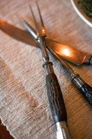 Vintage Thanksgiving Meat Carving Set