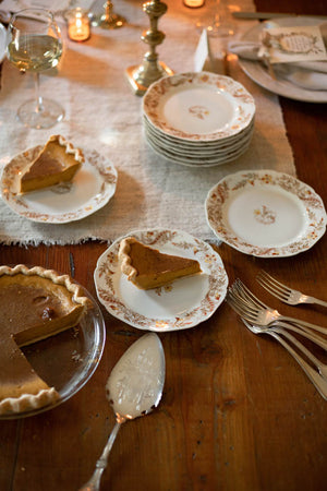 Thanksgiving Appetizer/Dessert Plates