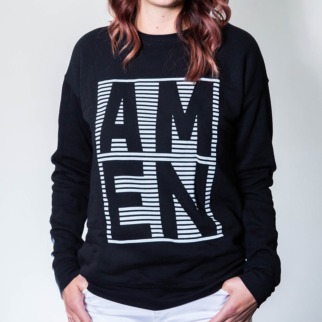 AMEN Sweatshirt - Black