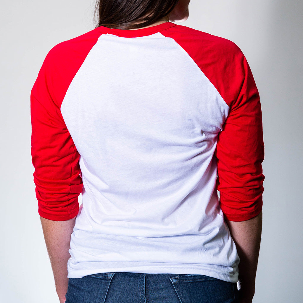 Make America Unoffendable Baseball Tee - Red