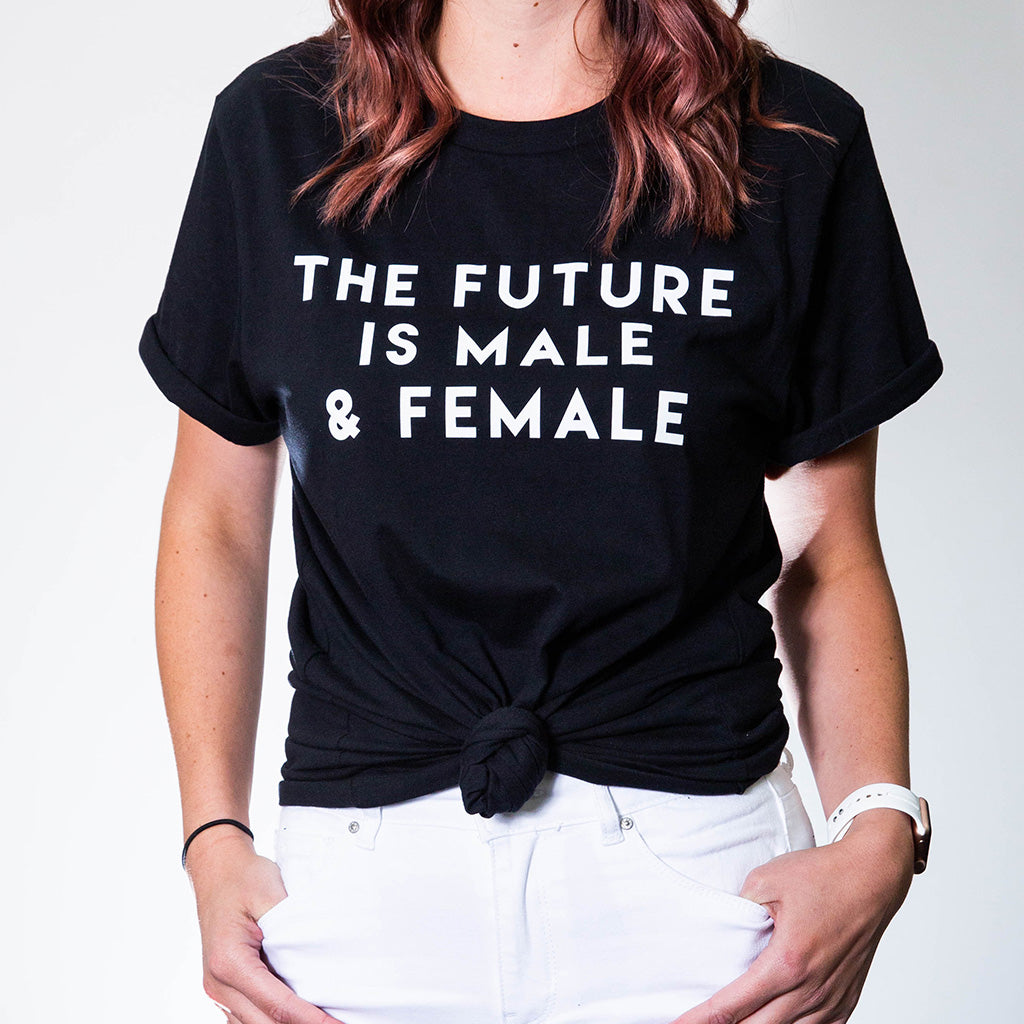 The Future is Male & Female - Black