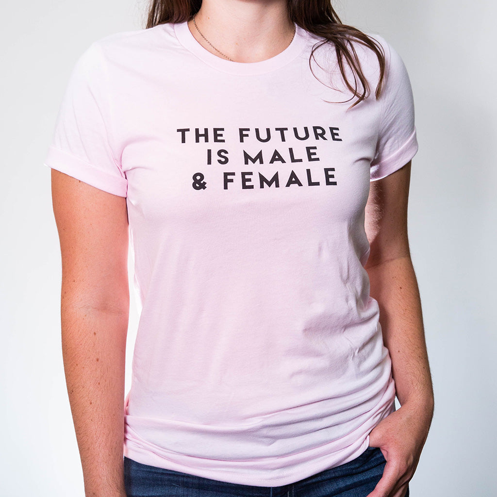 The Future is Male & Female - Pink