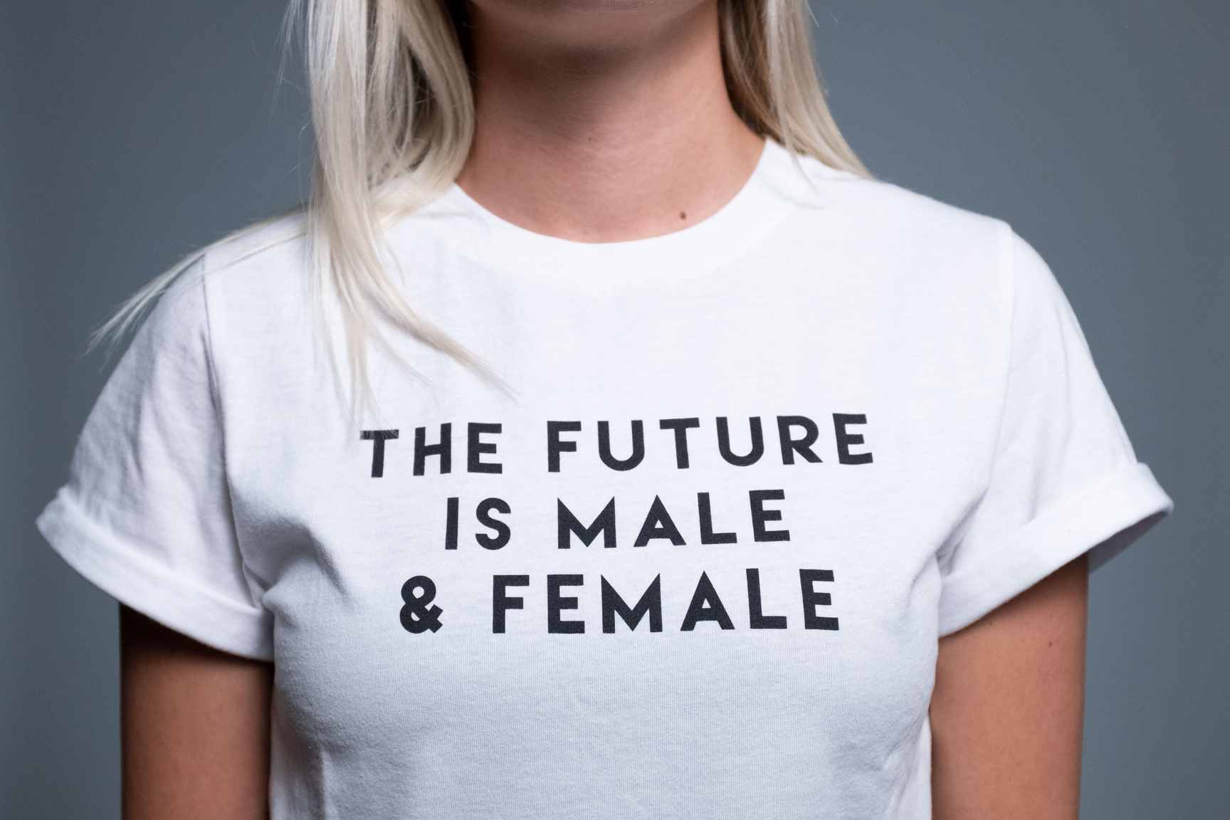 The Future is Male & Female - White
