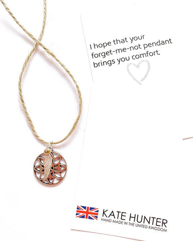 NHS 'FORGET-ME-NOT' PENDANT - highmaintenancejewellery