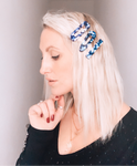 Blue Large Bar Hair Accessory - highmaintenancejewellery