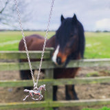 Horse Charm Necklace - highmaintenancejewellery