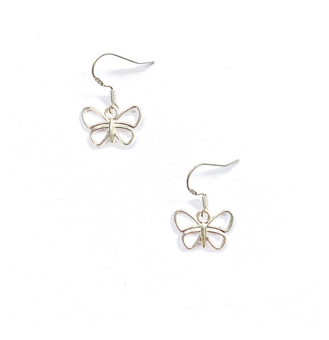 'She's like a Butterfly' - Sterling Silver Earrings - highmaintenancejewellery
