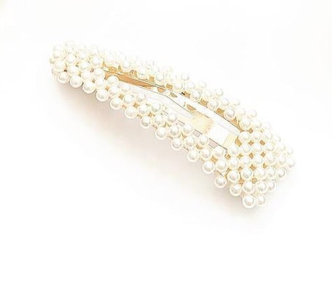 Large Triangle Pearl Hair Accessory - highmaintenancejewellery
