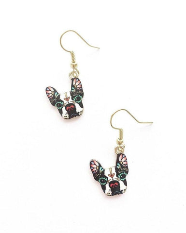 Rock Dog Earrings - highmaintenancejewellery