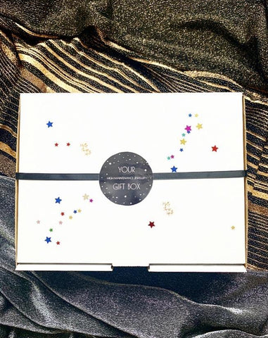 Moon & Star HMJ Large Gift Box - highmaintenancejewellery